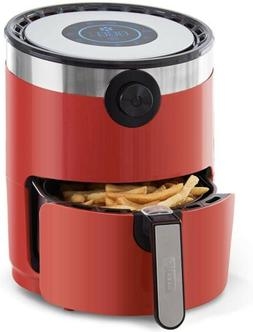 DASH 1.6-QT COMPACT  RAPID AIR FRYER RED COLOR DCAF150HNRD