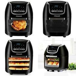 10 Quart Air Fryer Pro Plus Kitchen Home Cooking 10 Pre-Prog
