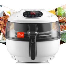 Kenwell 10QT Electric Digital Air Fryer Oil-Less Griller Roa