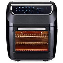 11.6qt Deep Fryers 1700W 8-in-1 Electric XL Air Oven, Rotiss