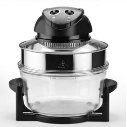 12.5Qt Air Fryer Halogen Oven Convection Oven Cooker Counter