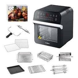 GoWISE USA 12.7-Quart 15-in-1 Electric Air Fryer Oven w/Roti