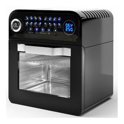 12-in-1 23 QT Digital Toaster Air Fryer Oven Rotisserie with