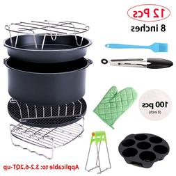 12PCS <font><b>Air</b></font> <font><b>Fryer</b></font> Acce