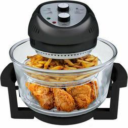 Big Boss 1300 Watt 16 Quart Oil-less Air Fryer w/ Extender &