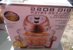 Big Boss 1300-Watt Oil-Less Air Fryer, 16-Quart - Copper,  A