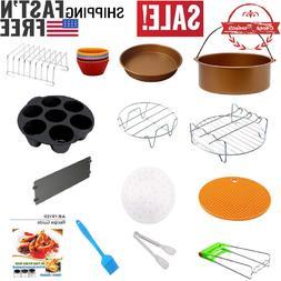 14 pieces XL Air Fryer Accessories 8-Inch, AirFryer Accessor
