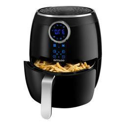 Gourmia 1500W 5 Qt Multi Mode Air Fryer 8 Presets Programmab