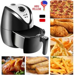ZOKOP 1500W Electric Air Fryer Cooker Timer Temperature Cont