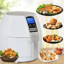 SUPER DEAL 1500W Electric Air Fryer W/Temperature Control Ti