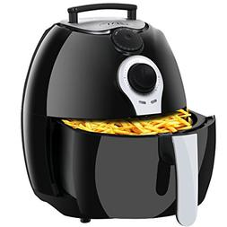 SUPER DEAL 1500W Electric Air Fryer W/Timer, Temperature Con