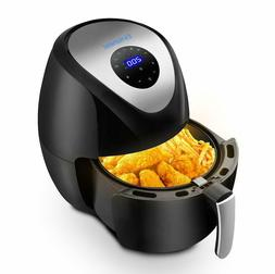 1500W Large 5.9QT Electric Hot Air Fryer Oilless Cooker 7 Co