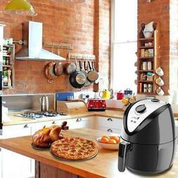 1500w lcd electric air fryer w 8