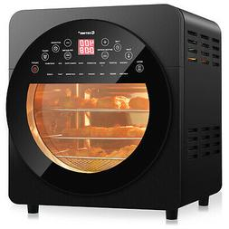 16-in-1 Air Fryer Oven 15.5 QT Toaster Oven Rotisserie Dehyd