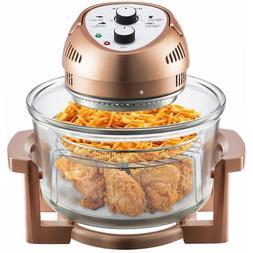 Big Boss 16 Qt. 1300-Watt Electric Air Fryer with 3 Cooking