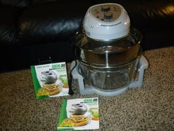 Big Boss 16 Quart 1300 Watt Air Fryer Roast Bake Broil Grill