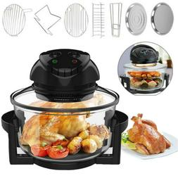 17-Quart Deluxe Air Fryer Healthy 1400W Infrared Convection