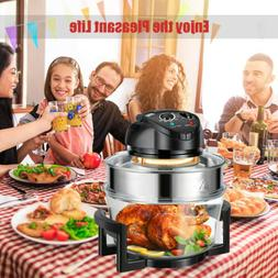 17Litre Convection Oven Cooker Extender Ring Air Fryer Home