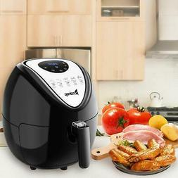1800w 5 3l lcd electric air fryer