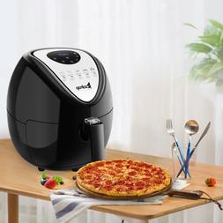 1800W 5.6QT 5.3 L Air Fryer Digital Cooking Healthy Oil-Less