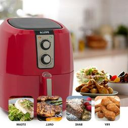 DELLA 1800W 5.8 QT XL Electric Air Fryer Healthy Low-Fat Mul