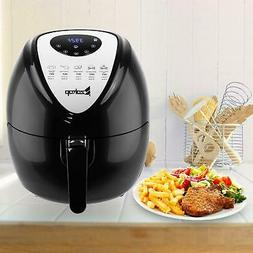 1800w extra large deep air fryer lcd