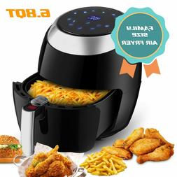 1800W Large Deep Air Fryer Digital LCD Display Temperature C