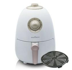 Modernhome 2.1Qt Compact Air Fryer with Full-Color Recipe Bo