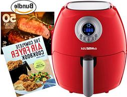 GoWISE USA 2.75-Quart Digital Air Fryer - Chili Red & The Co