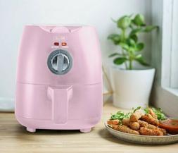 Bella 2-Quart Eletric Air Fryer Color Pink Mate Rare Brand N