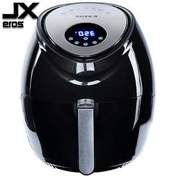 Air Fryer XL 5.5 QT 8-in-1 By B. WEISS Family Size Huge cap