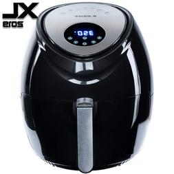 Air Fryer XL Best 5.5 QT 8-in-1 By B. WEISS Family Size Hug
