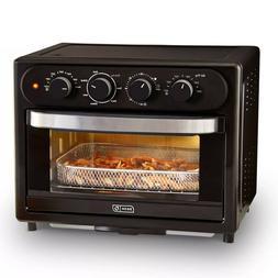 Dash 23-Liter Air Fryer Oven with Rotisserie-Black