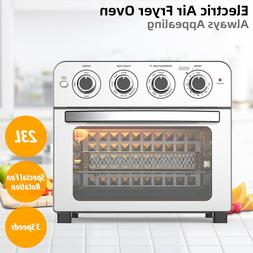 23L Air Fryer Oven Convection Cooker Turbo Rotisserie Health