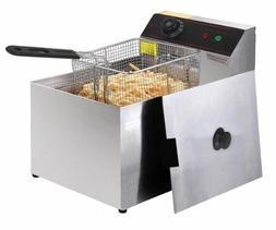 2500W Deep Fryer Electric Commercial Tabletop Restaurant Fry