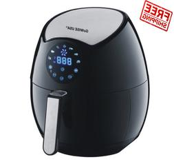 GoWISE USA 3.2-Liter 4th Generation Electric Air Fryer with