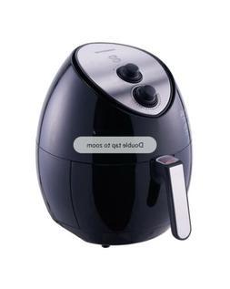 Farberware 3.2 Quart Oil-Less Multi-Functional Air Fryer, Bl