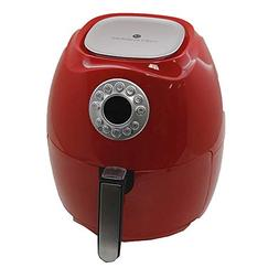Cook's Essentials 3.4-qt Digital Electric Air Fryer - Red -