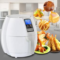 ZENY 3.5L/ 3.7QT Oil-Free 1500 Watts Electric Air Fryer Cook