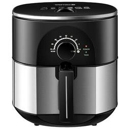 3.5QT Electric Stainless Steel Air Fryer Oven Oilless Cooker