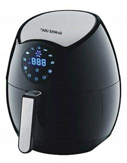 GoWISE USA 3.7-Quart 7-in-1 Programmable Air Fryer + 50 Reci