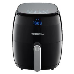 GoWISE USA 5.0 Qt 1500W Digital Touchscreen Air Fryer w/ 8 P