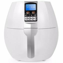 3.7 Quart Oil-Free electric Air Fryer Cooker 1500 Watt 8 Coo