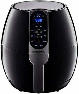 GoWISE USA 3.7-Quart Programmable Air Fryer with 8 Cook Pres