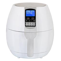 ZENY 3.7-Quart Programmable Electric Air Fryer, 8 Cook Prese