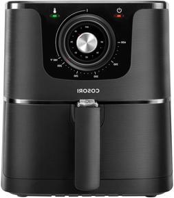 COSORI 3.7Qt Air Fryer Oven 85% Less Fat 1500W 30 Recipes Bl