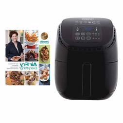 Nuwave 3 qt Brio Air Fryer with Air Fry Everything Cookbook