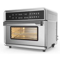 30Qt Touchscreen Air Fryer Toaster Oven With 3 Cooking Level