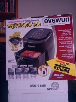 NuWave 37001 6-Qt 1800W Digital Air Fryer - Black...