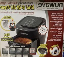 NuWave 37001 6-Qt 1800W Digital Air Fryer - Black